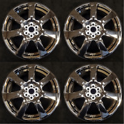 Set Of 4 20 Wheels W/ Chrome Clad Cover For 10-13 Cadillac Srx Oem Quality 4666