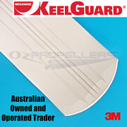 Keel Guard 9 Feet White Keel Protector Megaware Boat Length- Up To 24 Feet