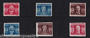 Romania - 1945 Trades Union Congress - Perf And Imperf Sets - U/m - Sg 1720-25