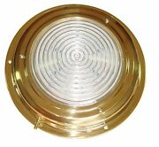 Victory Aa00541tnled Titan Brass Dome Light 4 Lens 12v 135-832