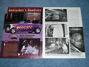 Andy Brizioand039s 1932 Ford Roadster Hot Rod Article Rodfatherand039s Roadster