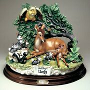 Bambi And Friends By Enzo Arzen Laurenz Disney Collection Capodimonte Figurine
