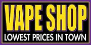 2and039x4and039 E-gigs Vape Sold Here Vinyl Banner Sign - Ecig Smoke Shop Ejuice