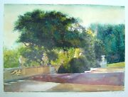 Landscape-floral-the Conservancy-sokol Hohne-mixed Media-art-prints-one Of One