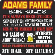 Personalized Funny Bar Signs Beer Quotes Decorative Sign Beer Party Decorations