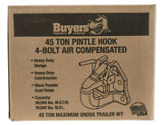 Buyers Products P45ac4k, 45-ton Air Compensated Pintle Hook 4-hole