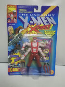 1992 X-men Error Forearm 4958 In Cable 4951 Package Marvel Comics Toy Biz