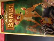 Bambi Vhs, Limited Anniversary Edition, Restored
