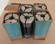 Lot Of 6 Namco 13/16 National Acme Precision Collets