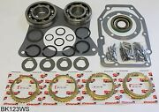 Jeep T176 4 Speed Transmission Bearing Kit With Synchro Rings, Bk123ws