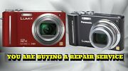 Panasonic Zs3 Or Zs5 Repair Service For Your Digital Camera- Warranty