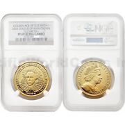 Isle Of Man 2003 Golden Age Of Elizabeth I Crown Gold Ngc Pf69 Ultra Cameo