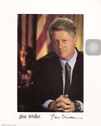 Bill Clinton Signed Typed Letter On White House Stationery-1/9/1997-plus Photo