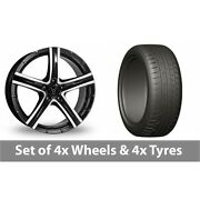 4 X 20 Wolfrace Quinto Suv Alloy Wheel Rims And Tyres - 275/45/20