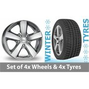 4 X 17 Dezent High Gloss Alloy Wheel Rims And Tyres - 245/55/17