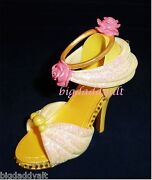 New Disney Parks Belle Princess Shoe Ornament Christmas Beauty And The Beast