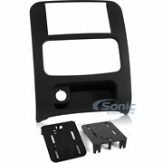 Metra 95-6524b Double Din Dash Kit For Select 2002-07 Jeep Liberty Vehicles
