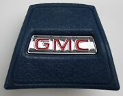 1969 1970 1971 1972 Gmc Truck Blue Horn Cap W Chrome And Red Details New
