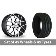 4 X 19 Tsw Nurburgring Forged Alloy Wheel Rims And Tyres - 225/35/19
