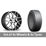 4 X 19 Tsw Nurburgring Forged Alloy Wheel Rims And Tyres - 225/45/19