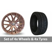 4 X 20 Zito Zl935 Rose Gold Alloy Wheel Rims And Tyres - 295/40/20