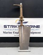 Stainless Steel Marine Rudder W/built In Nibral Rudder Log And Tiller Arm