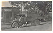 So. Manchester Ct Cigar Store Local And Long Distance Delivery Truck Rppc Postcard