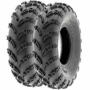 Pair Of 2 23x7-10 23x7x10 Quad Atv All Terrain At 6 Ply Tires A028 By Sunf
