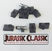 46-80 Chevy Amc 10pk 10-24 Extruded Fender U-nuts Clips Hood Body Panel Console