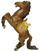 Stallion Jeweled Trinket Box With Crystals, By Rucinni
