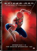Spider-man Five-movie Collection [new Dvd] Boxed Set Dolby Dubbed Subtitled