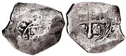 Mexico 8 Reales 1714 Dated Silver Cob Pedigree 1715 Plate Fleet Shipwreck