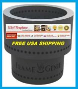 Flame Genie Fire Pit Burns Wood Pellets Fg16 Free Usa Shipping New Model Hy-c