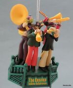 Hanging Ornament Beatles The Band From Yellow Submarine Movie 2010 Christmas New