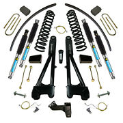 8 Lift Kit With Replacement Radius Arms And Bilstein Shocks - 2008-2010 Ford F-