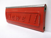 Used Newell Conventional Reel Part - R 533 5.5 Red - Spacer Bar B