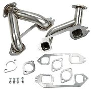 Fit 37-62 Chevy 216/235/261 6 Cylinder Stainless Steel Exhaust Manifold Headers