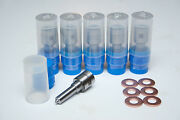 +50hp Set Of 6 Performance Injector Nozzles For Dodge Cummins 04.5-07 Sac