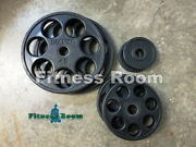 Ivanko Revolvers Olympic Rubber Coated Weight Plates 150lb - No Shipping
