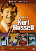 Kurt Russell 4-movie Collection [new Dvd] Boxed Set