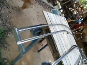 1959-60 Oldsmobile 98 Caddy Big Buick Outter Roof Rail An Gutter/ Drip Rail