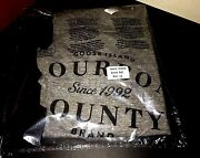 2016 New Sealed Authentic Goose Island Bourbon County Beer Bcbs Rare Shirt L