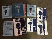 Lot Of 17 Oem Nissan / Tohatsu Outboard Shop Service And Parts Manuals