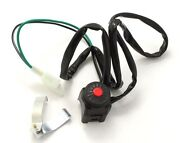 Kill Switch Button For Dirt Bike Quad Atv Dual Sports Motorcycle Start Horn