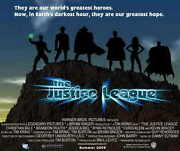 Justice League The New Frontier Movie Poster 20x20 Christian Bale