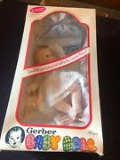Vintage Gerber Baby Doll 12 1979eyes Move Independently Side To Side Nib