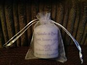 Set Of 60 X Personalised Candle Wedding Favours 1 Side Print Plus Chocolates