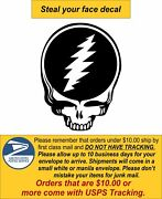 Steal Your Face/ Jerry Garcia Window Decal - Various Sizes Free Ship