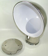 Victory Ch4360 Stainless Steel 4 Round Cowl Vent W/ Deck Plate 135-1048