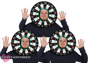 Pack Of Dart Board Hats Funny Novelty Darts Fancy Dress Costume Stag Hat Lot
